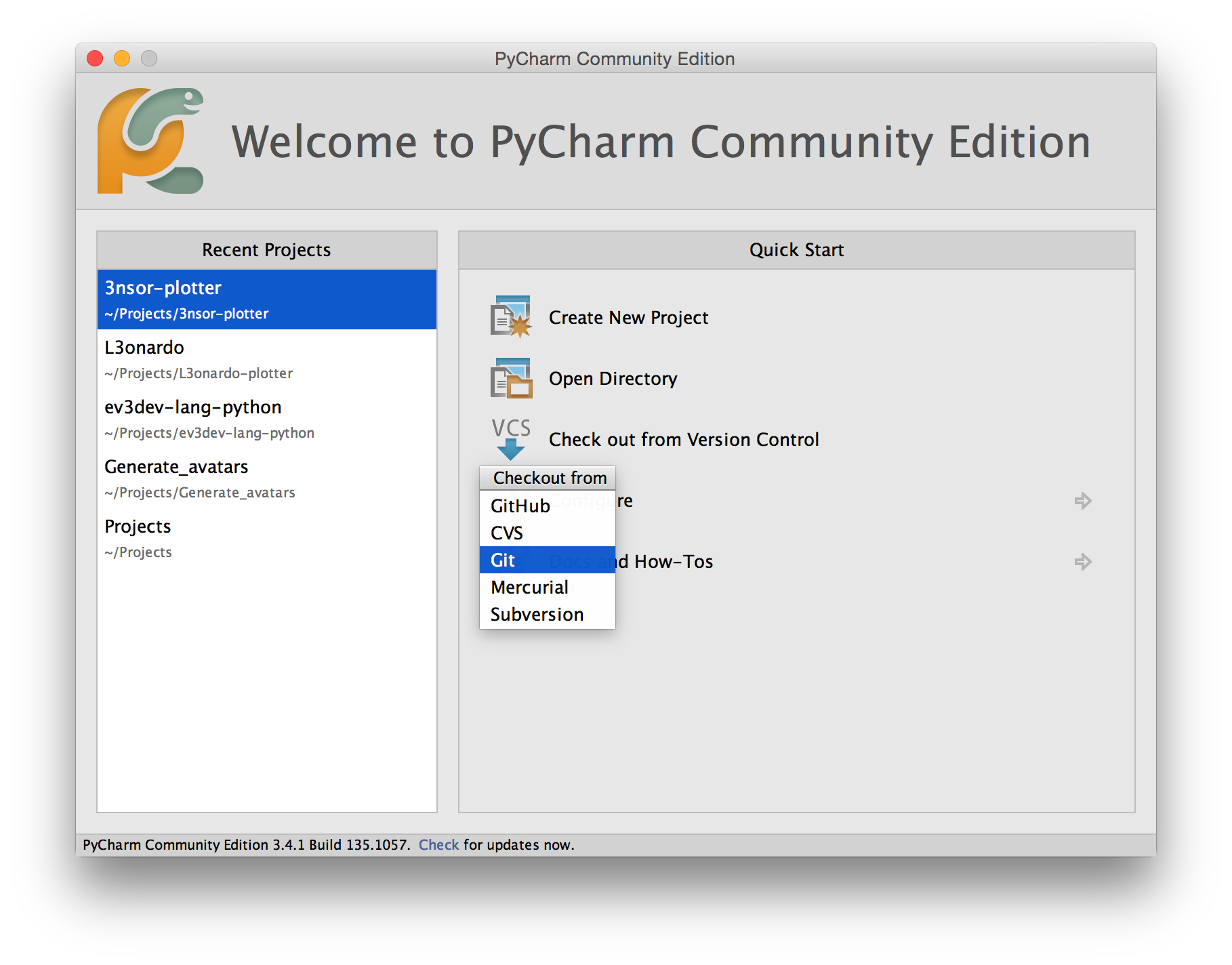 Setting up a python development environment with pycharm screenshot baditri Image collections
